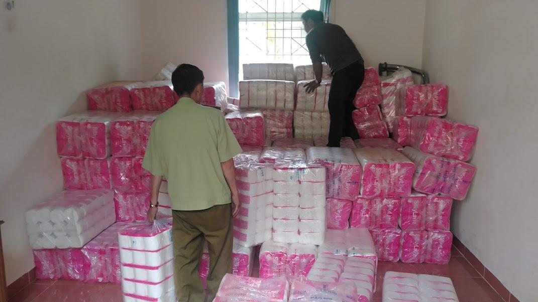 Gia Lai: Tạm giữ hơn 11.000 lốc giấy vệ sinh có dấu hiệu giả mạo nhãn hiệu giấy vệ sinh SilkyLive đang được bảo hộ tại Việt Nam.