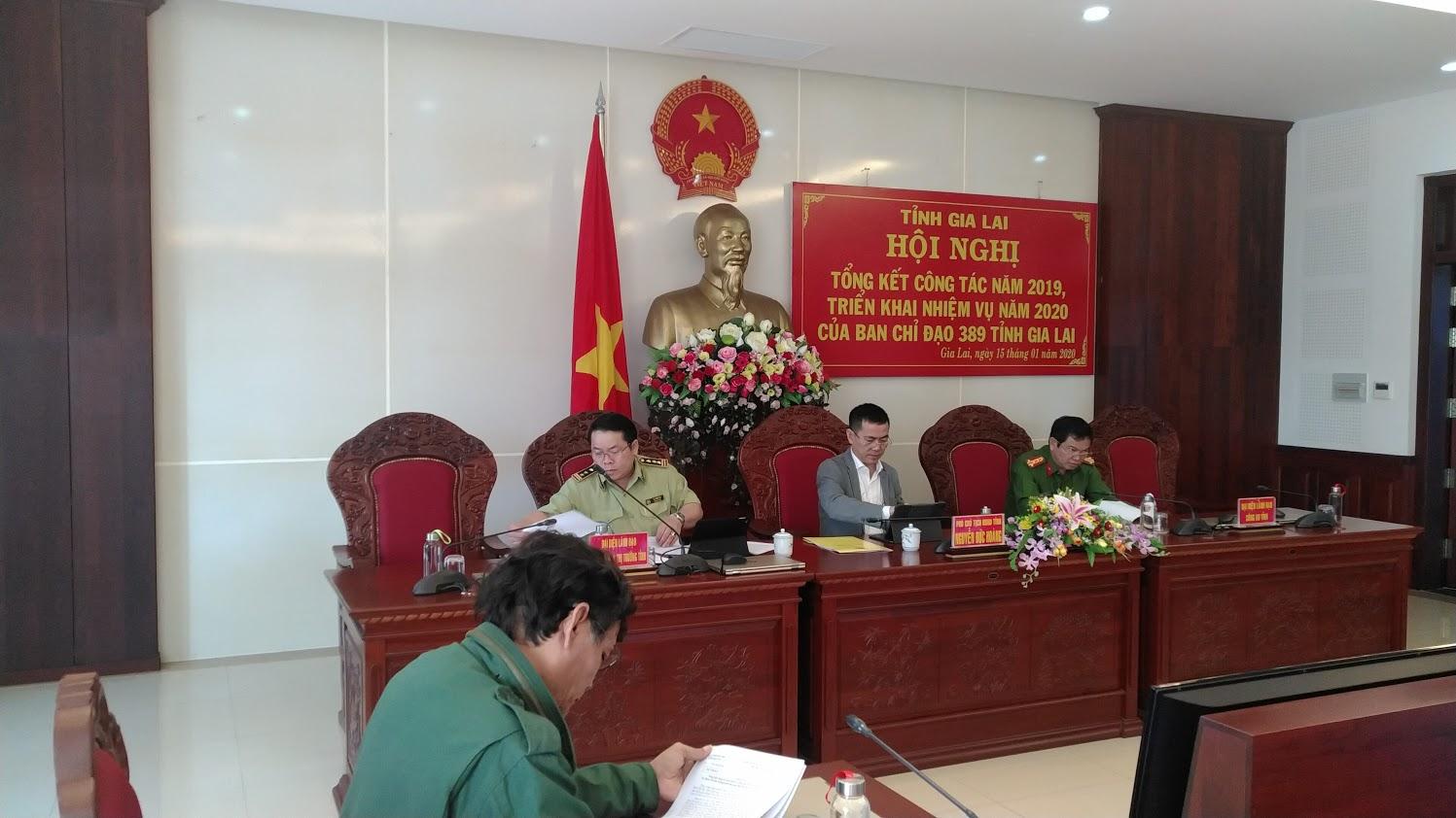 Ban Chỉ đạo 389 tỉnh Gia Lai tổng kết công tác năm 2019