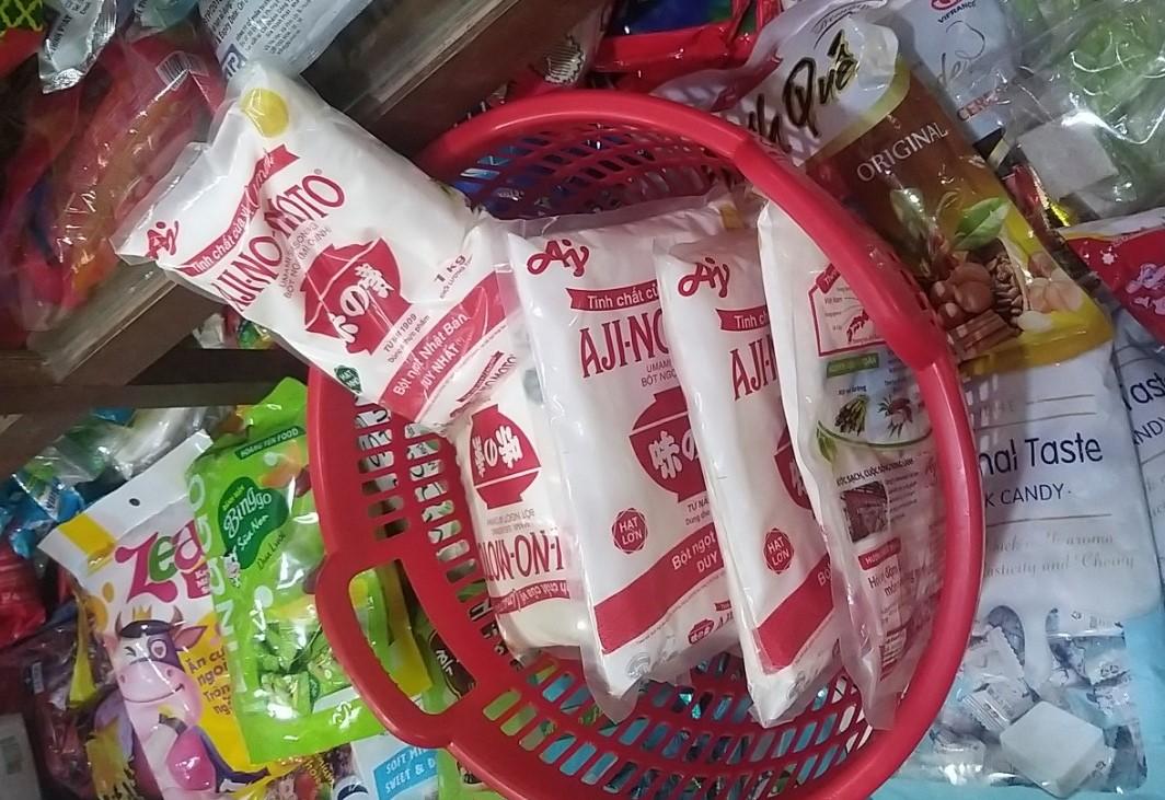 Gia Lai: Đội QLTT số 7 tạm giữ 06 kg bột ngọt có dấu hiệu giả mạo nhãn hiệu của Công ty Ajinomoto Việt Nam